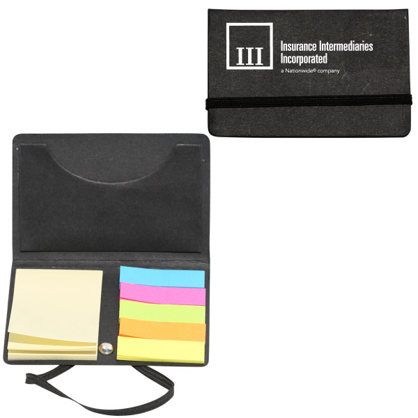 Imprinted Envoy - Recycled Note and Business Card Holder