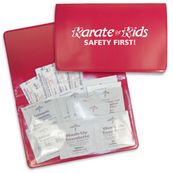 Personalized Staying Safe First Aid Care Kit Plus