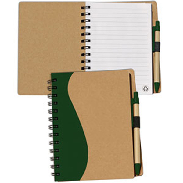 Imprinted Maple - Eco-Aware Large Recycle Journal Combo
