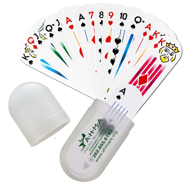 Personalized Monaco - Deck of Cards in Protective Carrying Case