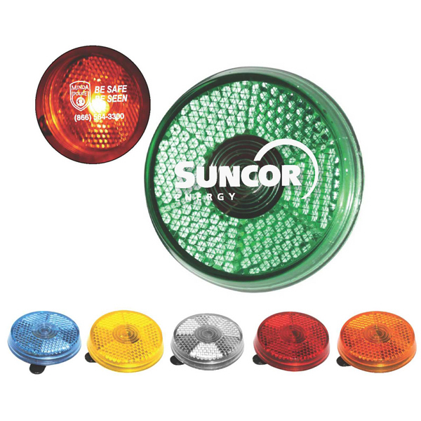 Promotional Clip-It-On Reflector Safety Light