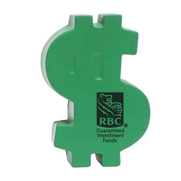 Promotional Dollar Sign Stress Reliever
