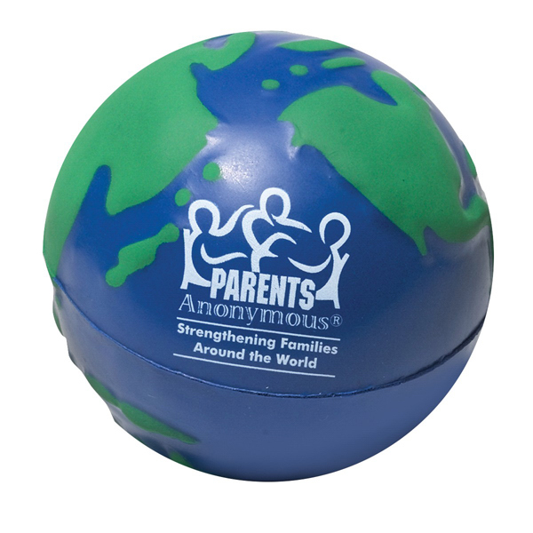 Personalized Earth Stress Ball