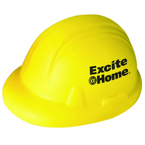 Printed Hard Hat Stress Reliever