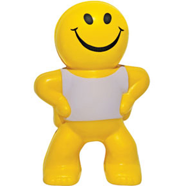 Customized Mr. Smiley Stress Reliever