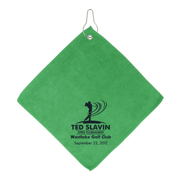 Promotional Augusta - Microfiber Golf Towel