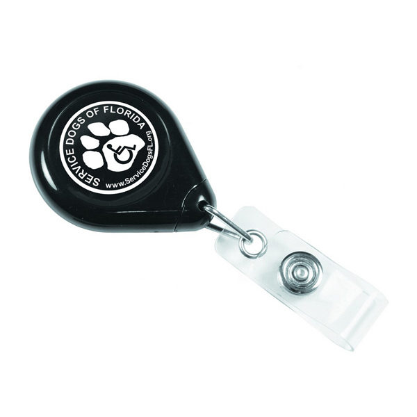 Imprinted Providence Non-Twist Retractable Badge Holder
