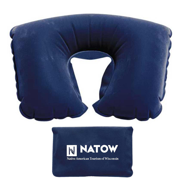 Imprinted First Mate Travel Neck Pillow