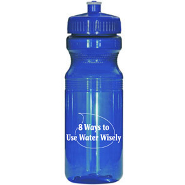 Personalized Ultra light translucent sports bottle