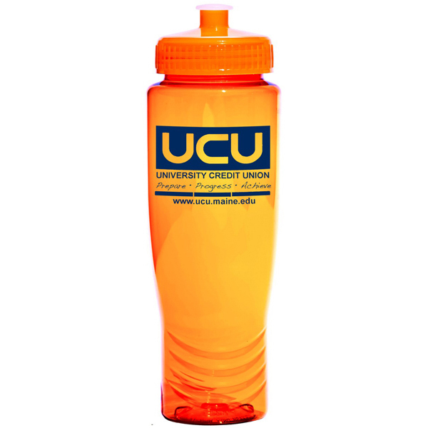 Customized Translucent plastic bottle