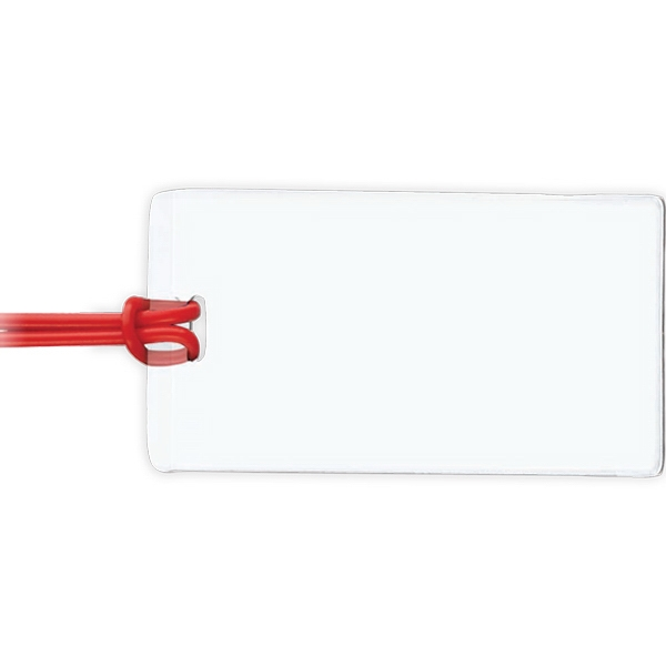 Customized Clear Slip-In ID Tags