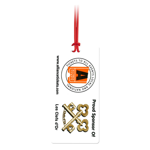 Customized Jumbo Size Slip-In ID Luggage Tag
