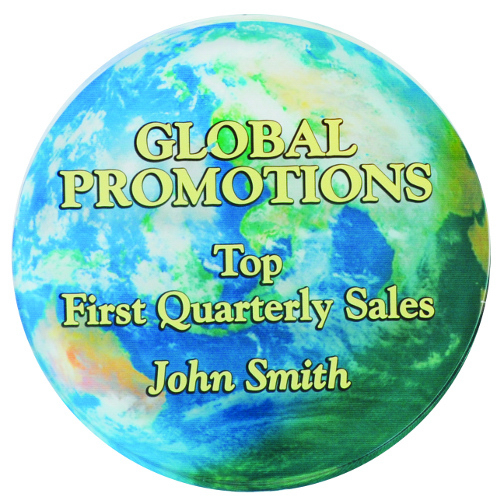 Promotional 4 Color Process Round Paperweight