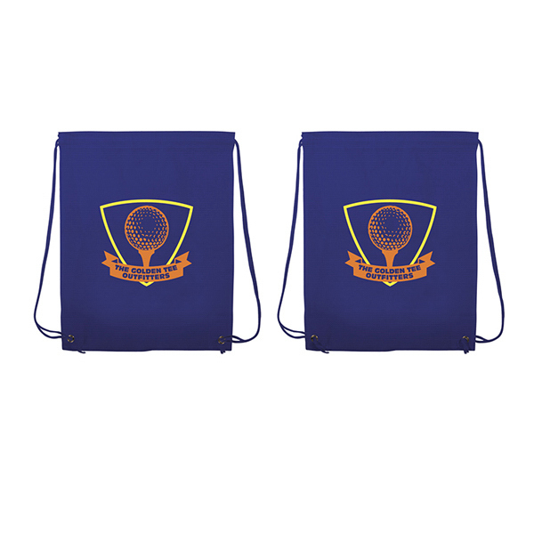 Customized Non-Woven Drawstring Backpack