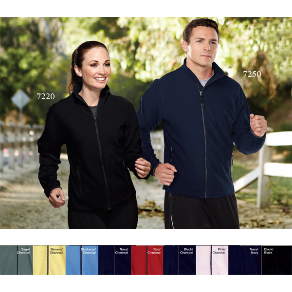 Printed Instinct - Men's Anti Pilling Micro Fleece Jacket