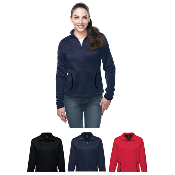 Printed Lady Solstice Women's Performance Fleece Jacket