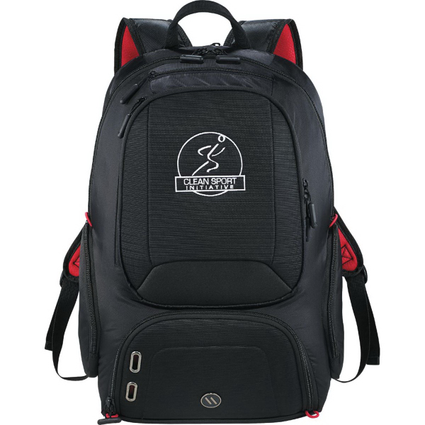 Printed Elleven (TM) Mobile Armor Compu-Backpack