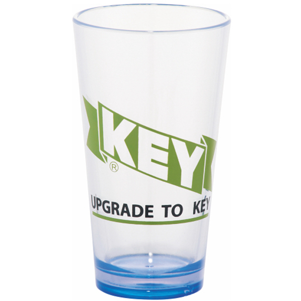 Promotional Game Day Plastic Pint Glass 16 oz