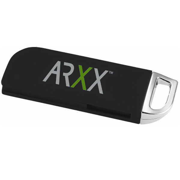 Personalized Button Top Flash Drive 2GB