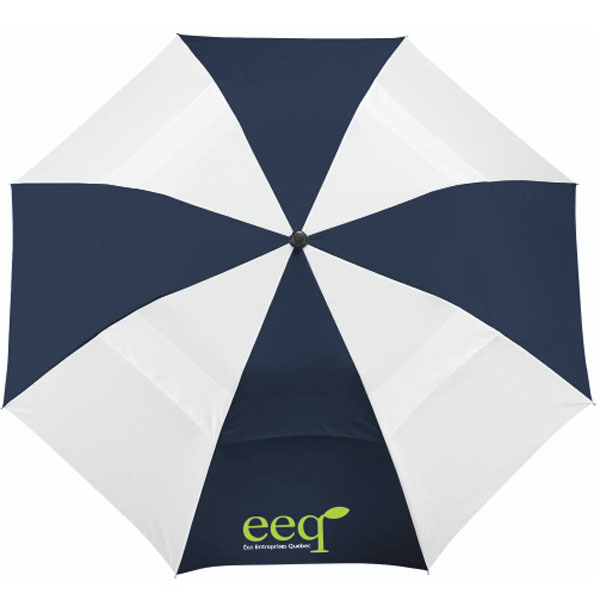 "Custom 42"" Vented Windproof Slim Stick Umbrella"