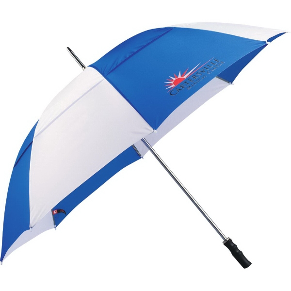 "Custom 60"" Vented Golf Umbrella"