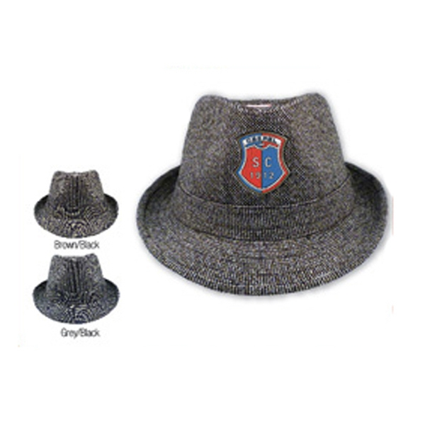 Imprinted Newport Fedora Hat
