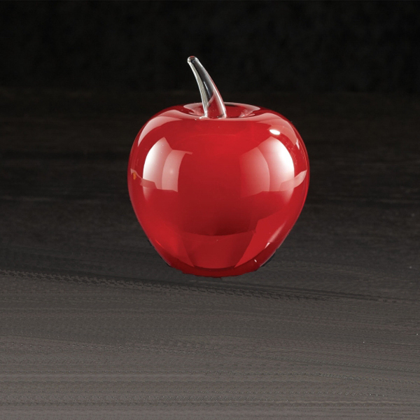 Printed Red Apple
