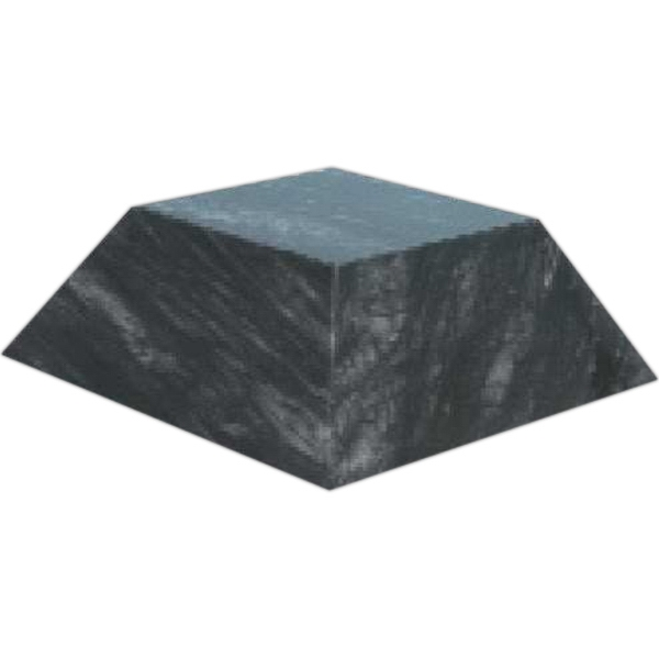 Custom Large Black Marble Pyramid Base