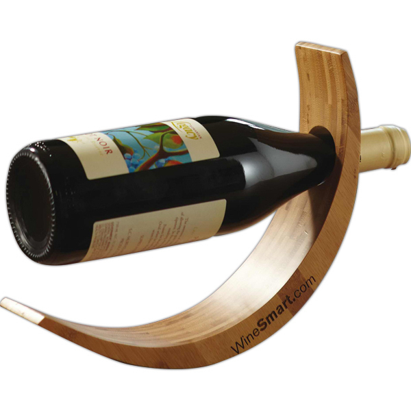 Promotional Bamboo Wine Cradle