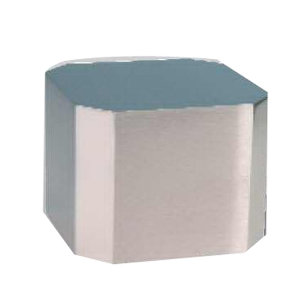 Imprinted Medium Silver Cube Base