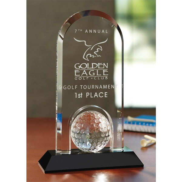 Imprinted The Hole In One Award