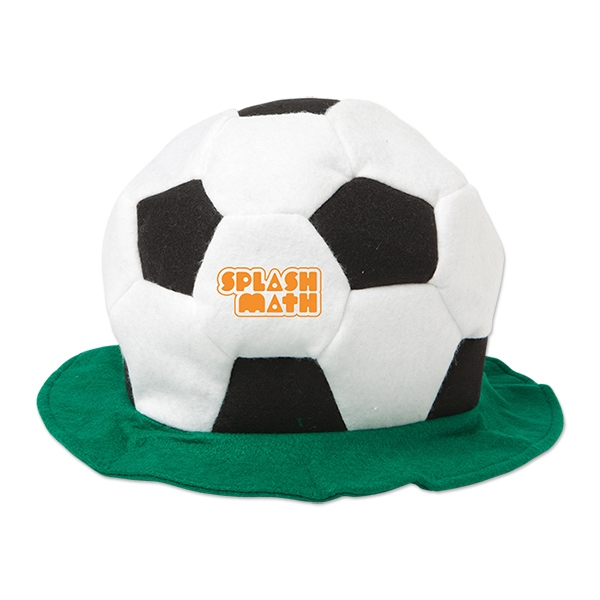 Custom Velour Soccer Hat
