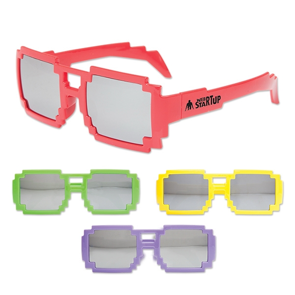 Personalized Pixel Glasses Assortment