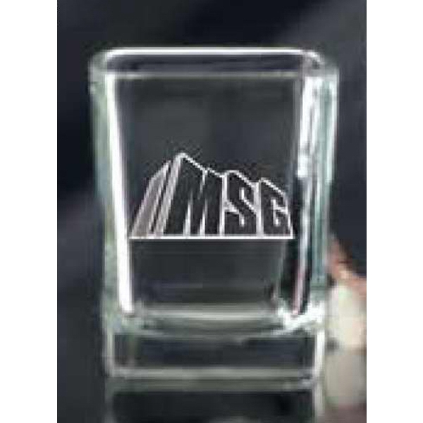 Imprinted Square Shot Glass