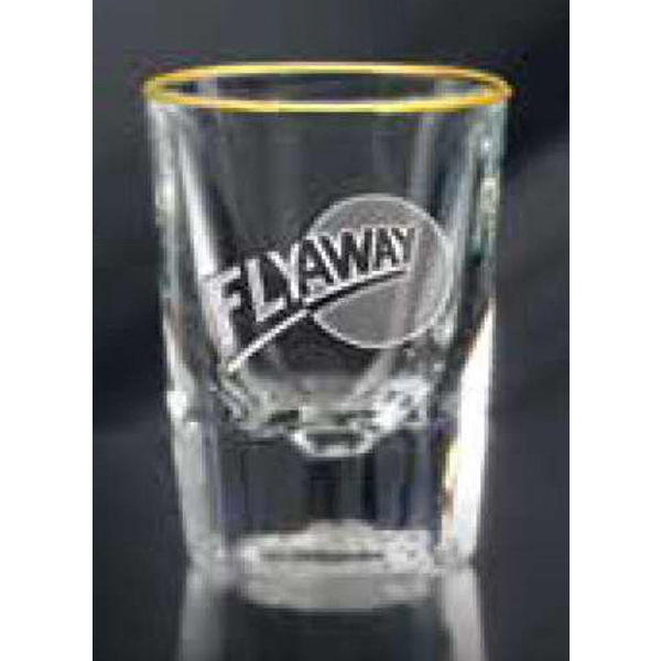 Personalized Fluted Shot Glass