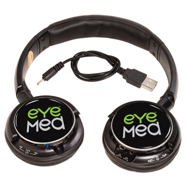 Printed Bluetooth (R) Stereo Headphones/FM Radio