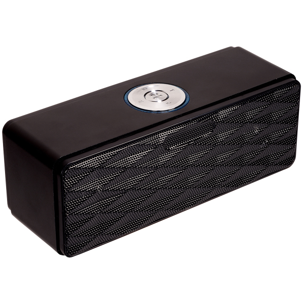 Imprinted Bluetooth (R) Mini-Boom Speaker/FM Radio
