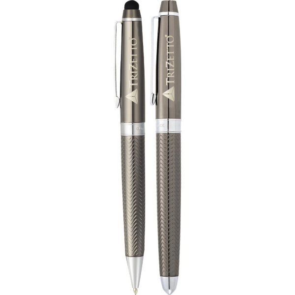 Custom Cutter & Buck (R) Pacific Stylus Pen Set
