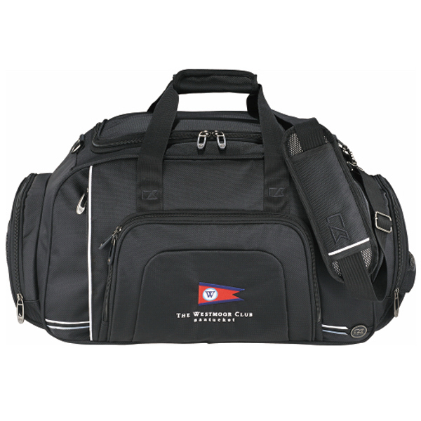 Imprinted Cutter & Buck (R) Tour Deluxe Duffel Bag