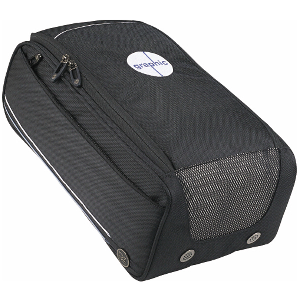 Printed Cutter & Buck (R) Tour Deluxe Shoe Bag
