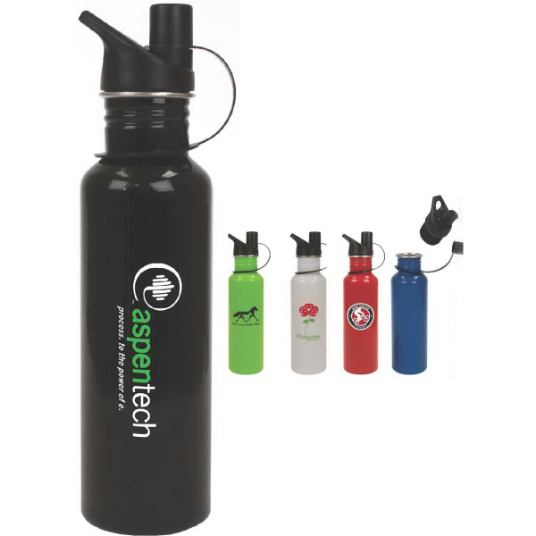 Printed Trigger 25oz Stainless Steel Water Bottle
