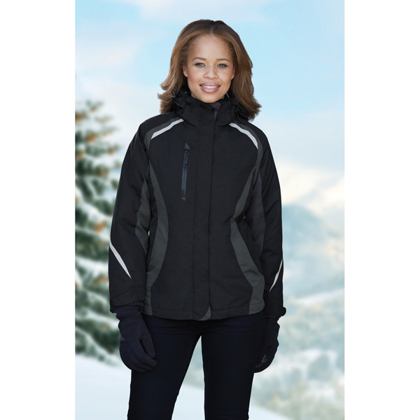 Printed Ladies' North End  (R) 3-In-1 Jacket with Insulated Liner