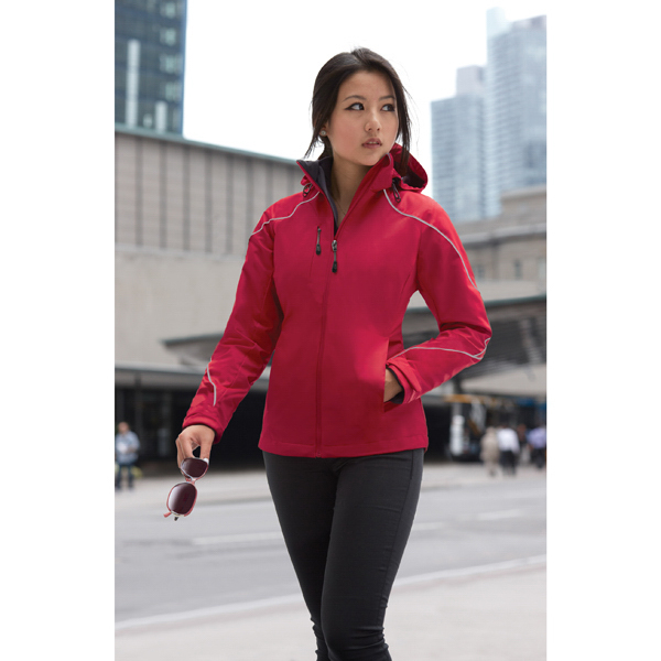 Printed Ladies' North End (R) 3-In-1 Jacket with Bonded Fleece Liner