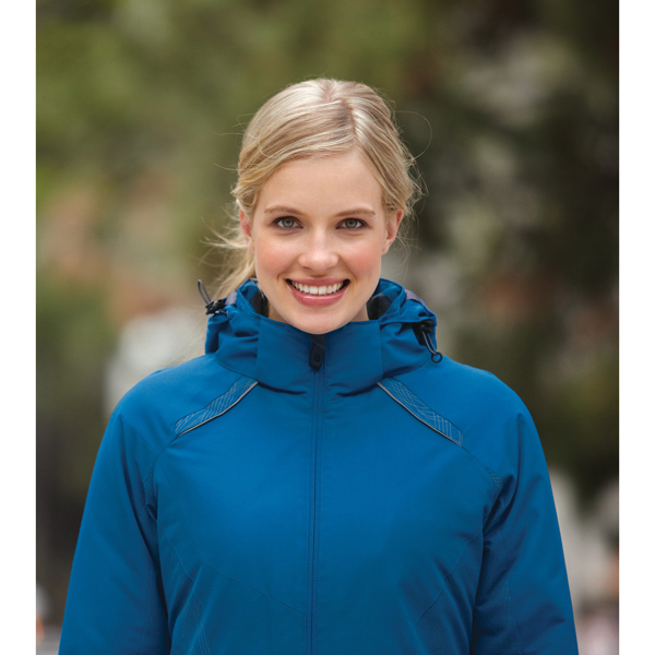 Imprinted Ladies' North End (R) Insulated Jacket with Print