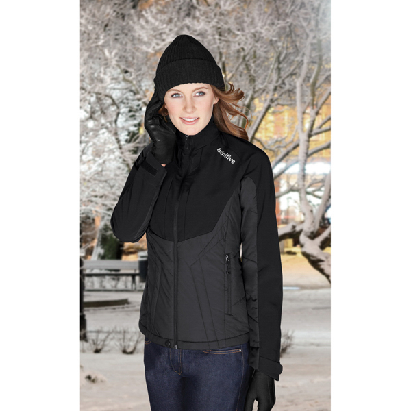 Customized Ladies' North End Sport (R) Insulated Soft Shell Jacket