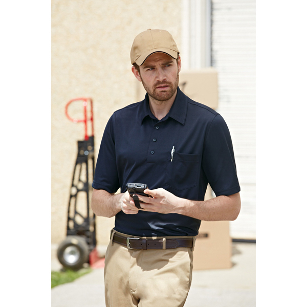 Personalized Extreme EPerformance (TM) Shift Men's Snag Protection Polo