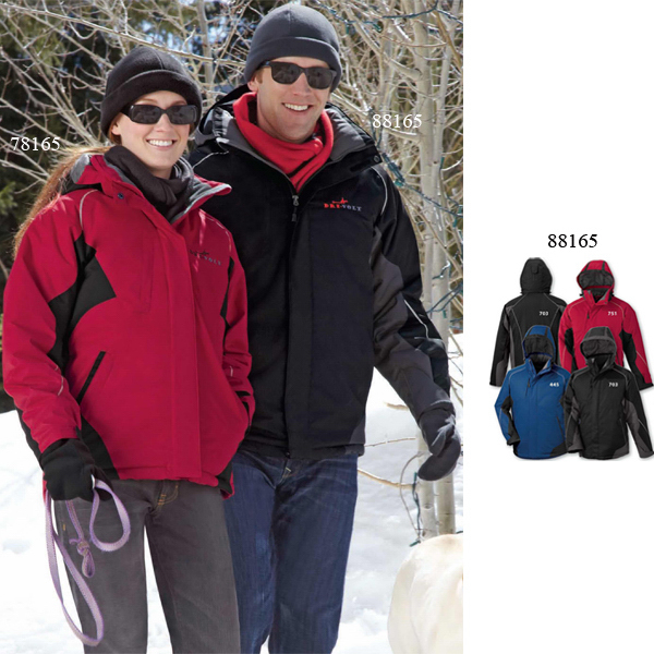 Customized Men's North End (R) Avalanche Color-Block Insulated Jacket