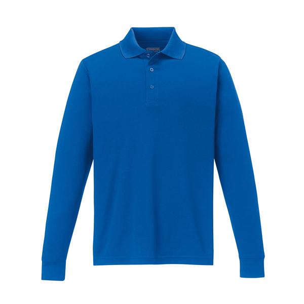 Custom Core 365 (TM) Men's Performance Long Sleeve Pique Polo
