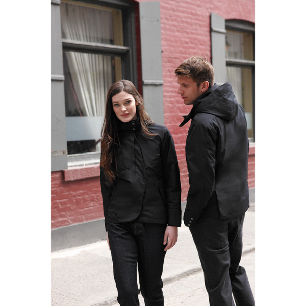 Customized Men's Twill Insulated Jacket with Heat Reflect Technology