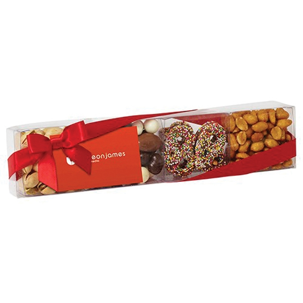 Printed Premier Treats with Nuts, Bridge Mix and more